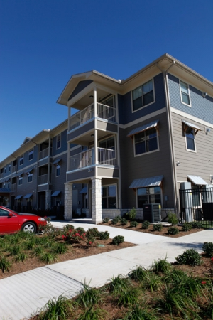 Exterior view of Floral Gardens Senior Apartments